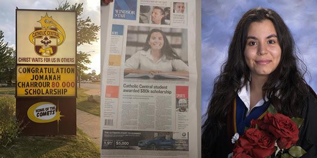 Photo of طالبة سورية تتفوق في مجال العلوم و تظفر بواحدة من أشهر المنح الدراسية في كندا