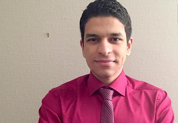 Photo of إياد زيدان… طالب سوري متفوّق في النرويج