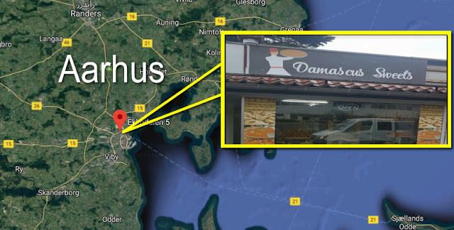 Photo of أفتتاح محل *حلويات دمشق *  للحلويات السورية في مدينة Aarhus