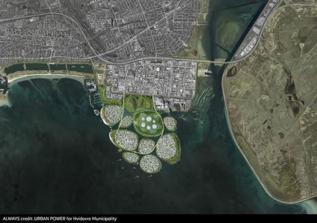 """Photo of بالصور: الدنمارك تكشف عن تصميمات الجزر الجديدة قبالة سواحل """"كوبنهاجن"""""""